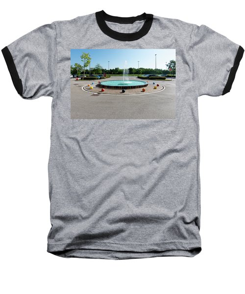 Euro New Topographics 18 Baseball T-Shirt