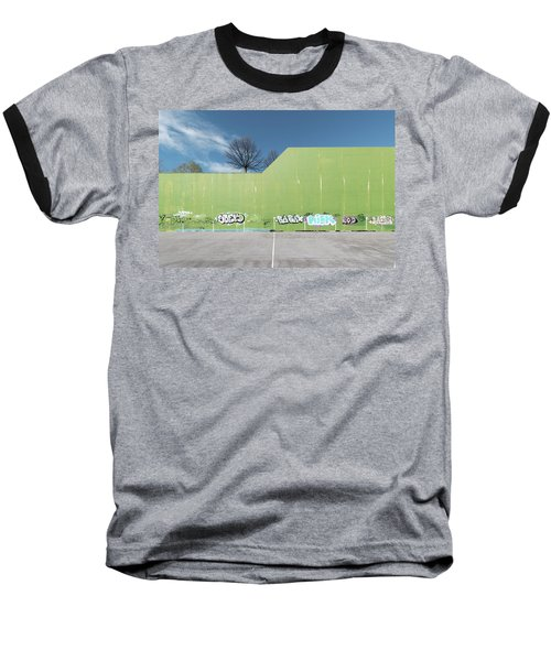 Euro New Topographics 26 Baseball T-Shirt