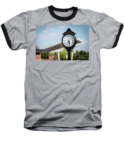 Evans Towne Center Park Clock - Evans Ga Baseball T-Shirt