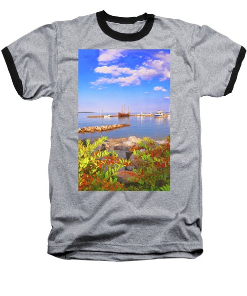 Evening At The York River In Yorktown Virginia Baseball T-Shirt