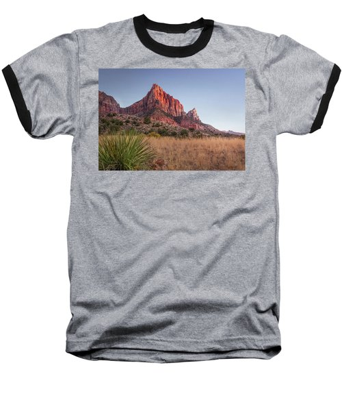 Baseball T-Shirt featuring the photograph Evening Vista At Zion by James Woody