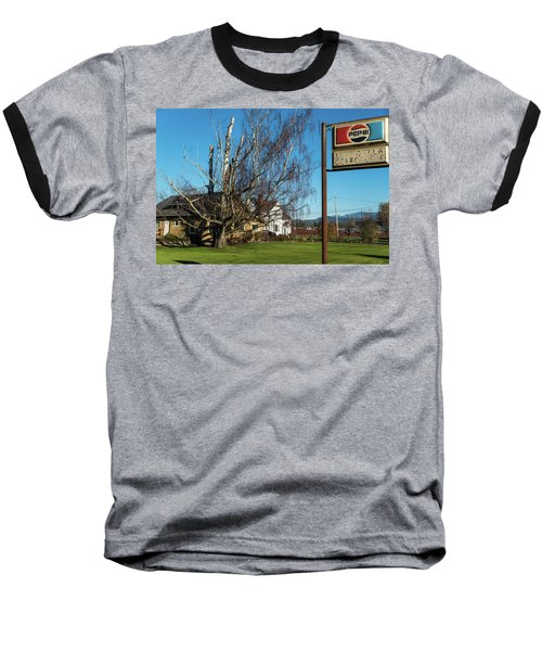 Evergreen Golf Course Baseball T-Shirt