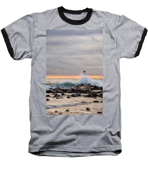 Explosive Sea 1 Baseball T-Shirt