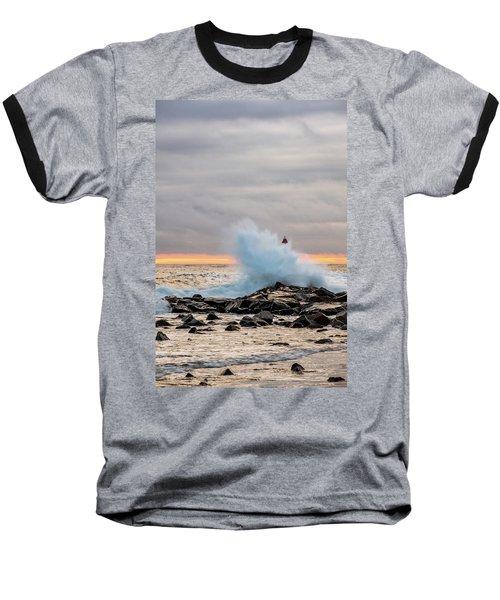 Explosive Sea 2 Baseball T-Shirt