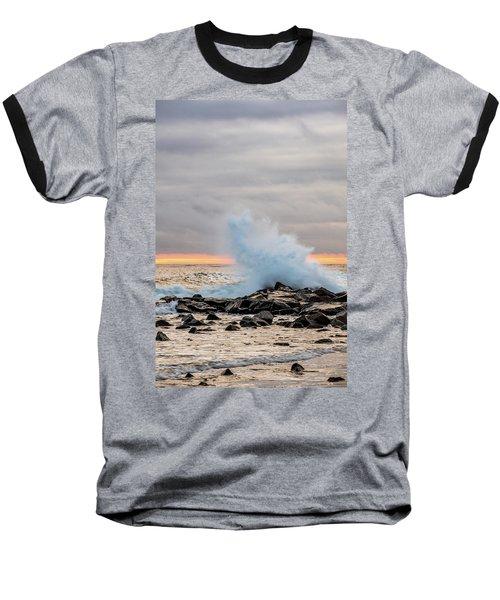 Explosive Sea 3 Baseball T-Shirt