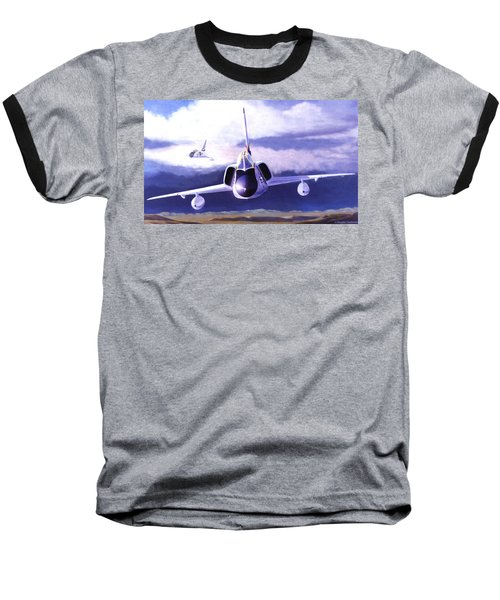F-106a Head-on Baseball T-Shirt