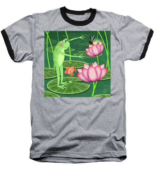 F Is For Frog Baseball T-Shirt