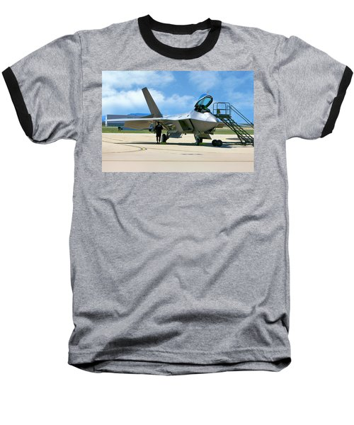 F22 Rapter Baseball T-Shirt