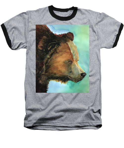 Face To Face Bear Baseball T-Shirt