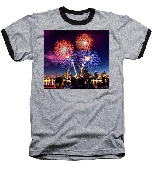 Fair St. Louis Fireworks 6 Baseball T-Shirt