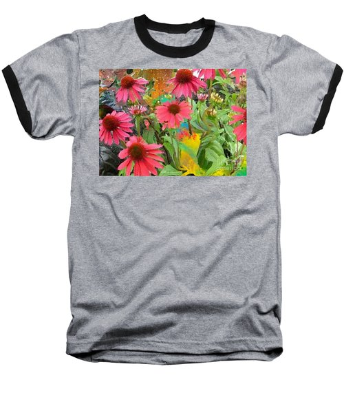 Fairy Among The Flowers Baseball T-Shirt