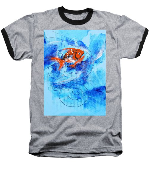 Fake Nemo Fish Baseball T-Shirt