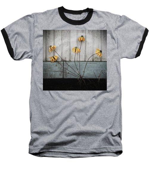Fake Wilted Flowers Baseball T-Shirt