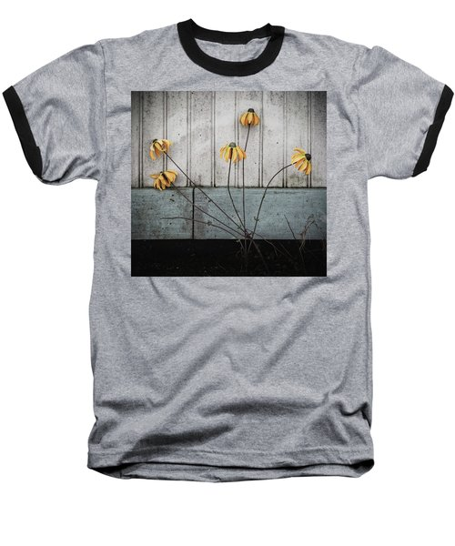 Fake Wilted Flowers Baseball T-Shirt