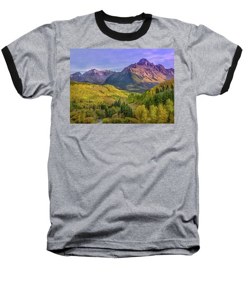 Baseball T-Shirt featuring the photograph Fall Color In The San Juan Mountains by James Woody