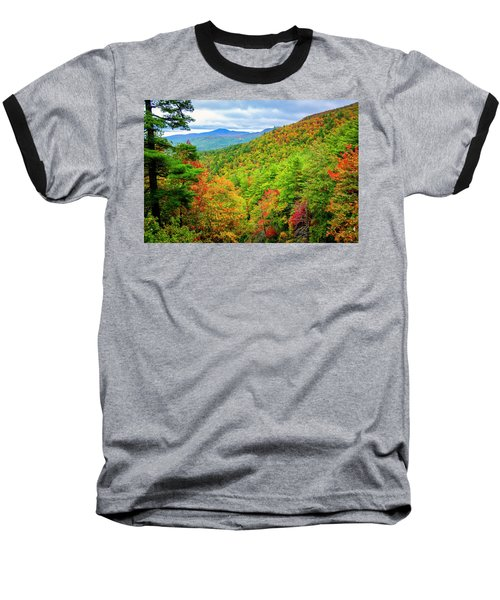 Baseball T-Shirt featuring the photograph Fall In The Smokies by Andy Crawford