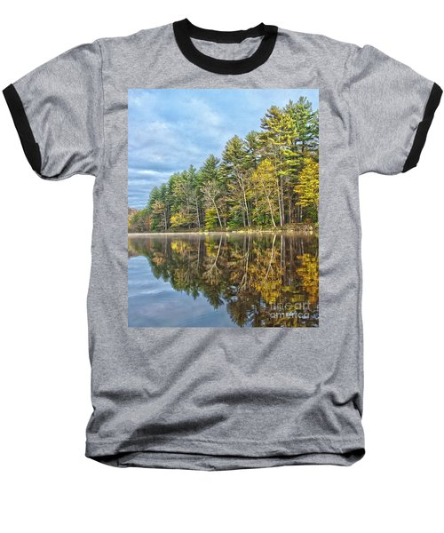 Fall Reflection Baseball T-Shirt