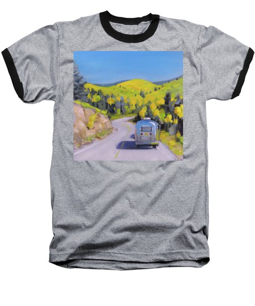 Fall Road Trip Baseball T-Shirt