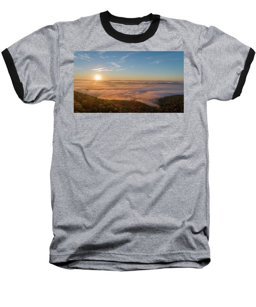 Fall Sunrise Baseball T-Shirt