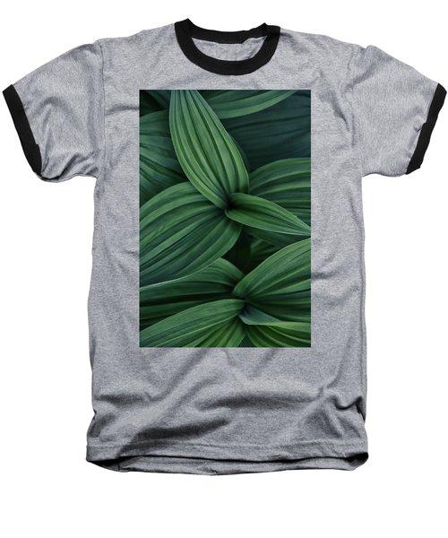 False Hellebore Plant Abstract Baseball T-Shirt