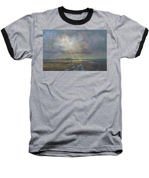 Farm In Spring Baseball T-Shirt