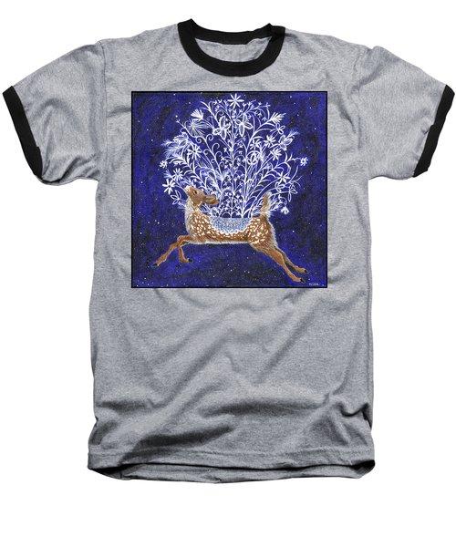 Fawn Bouquet Baseball T-Shirt
