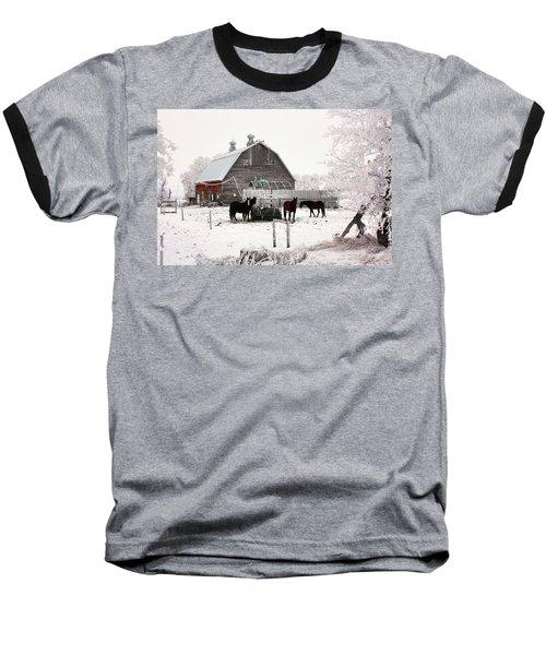 Feed Baseball T-Shirt