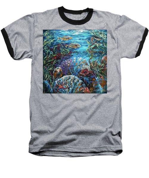 Festive Reef Baseball T-Shirt