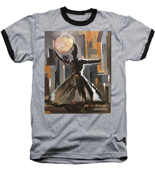 Baseball T-Shirt featuring the painting Fidelity  by Nizar MacNojia