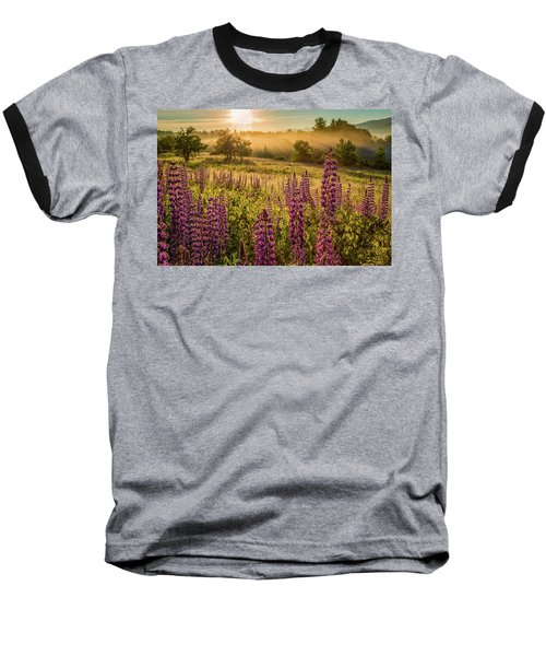 Fields Of Lupine Baseball T-Shirt