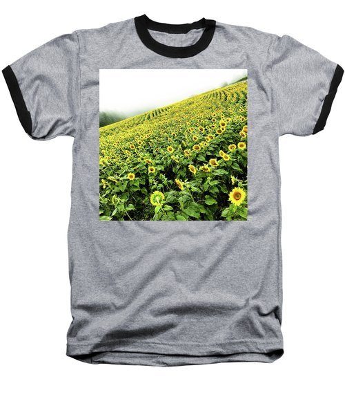 Fields Of Yellow Baseball T-Shirt