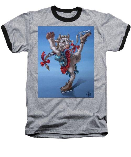 Figure Skater Baseball T-Shirt