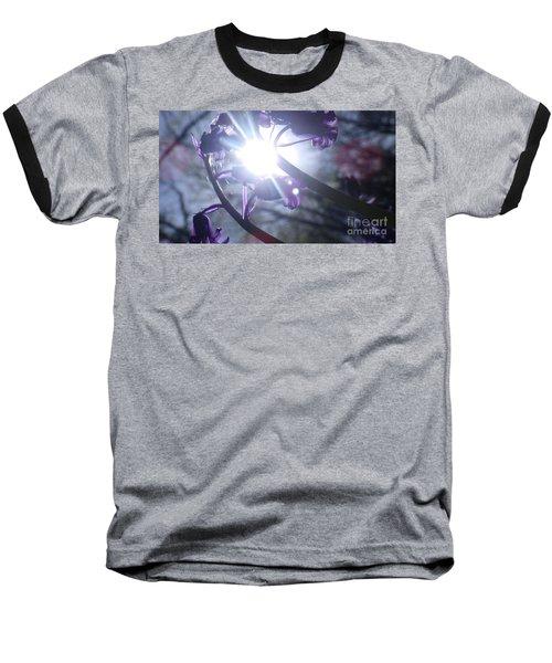 Fine Art Bluebells Photo 1 Baseball T-Shirt