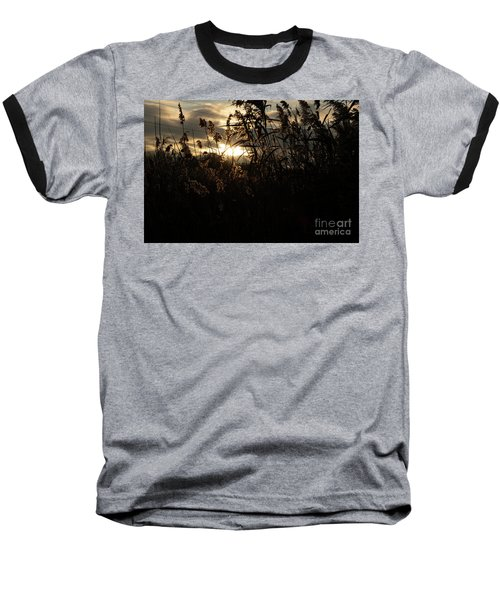Fine Art - Dusk Baseball T-Shirt