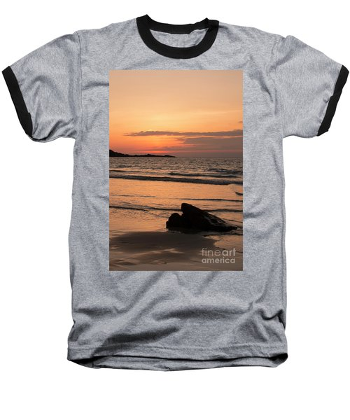 Fine Art Sunset Collection Baseball T-Shirt