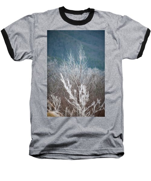Fingers Of Hoarfrost Baseball T-Shirt