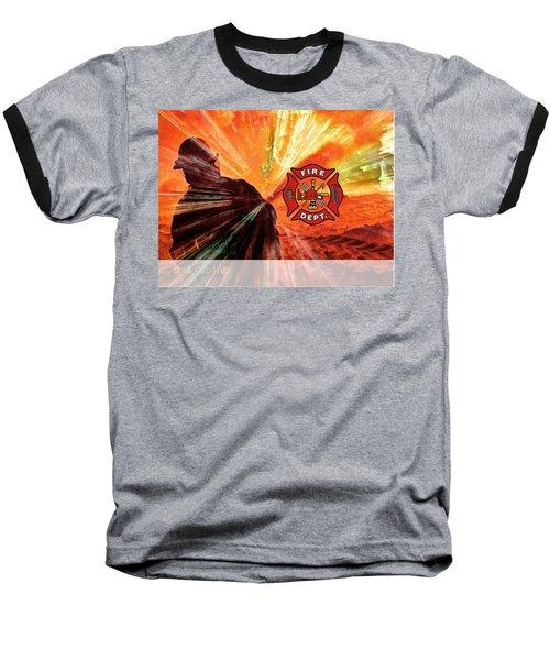 Fire Fighting 1 Baseball T-Shirt