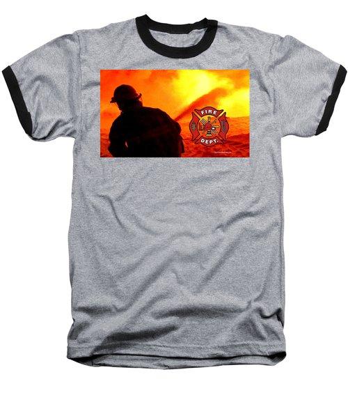 Fire Fighting 6 Baseball T-Shirt