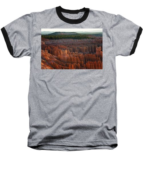 First Light On The Hoodoo Inspiration Point Bryce Canyon National Park Baseball T-Shirt