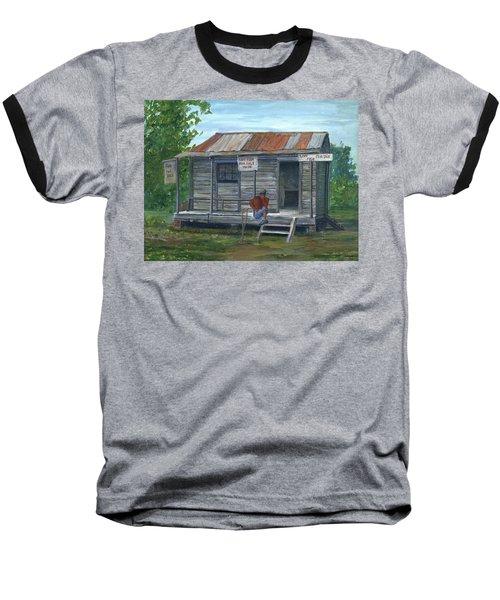 Fish Store, Natchitoches Parish, Louisiana Baseball T-Shirt