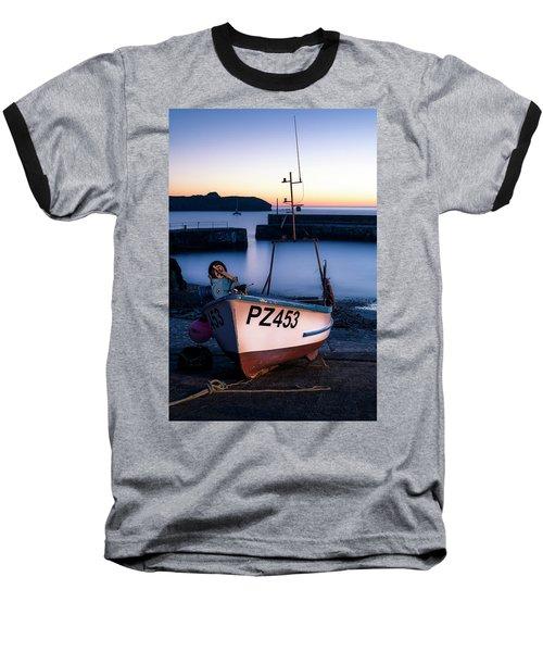 Fishing Boat In Mullion Cove Baseball T-Shirt