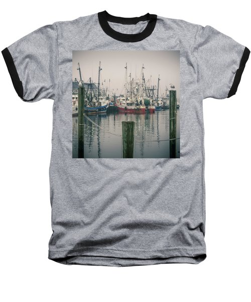 Fishing Boats Baseball T-Shirt