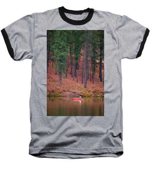 Fishing Fenton Lake Baseball T-Shirt