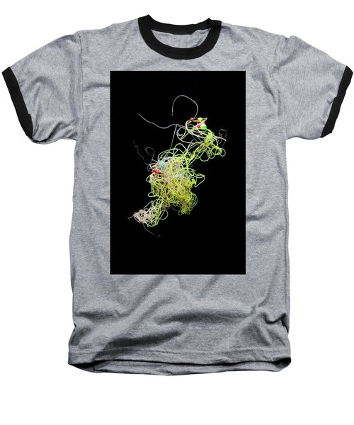 Fishing Line Flotsam 03 Baseball T-Shirt