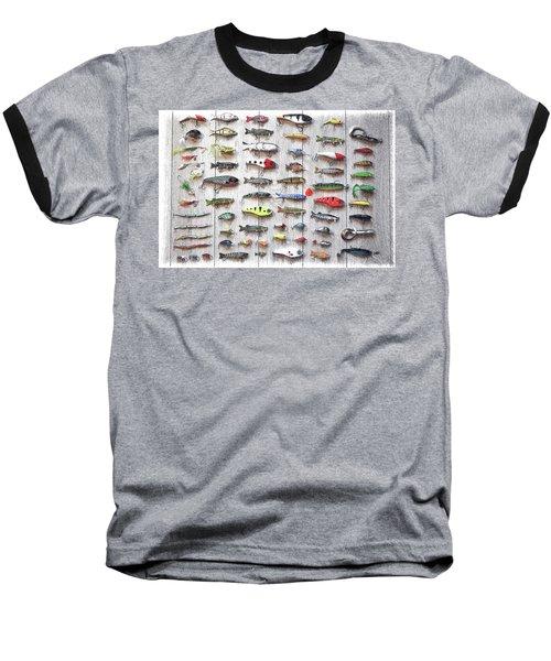 Fishing Lures - Dwp2669219 Baseball T-Shirt
