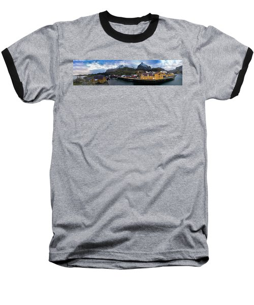 Fishing Village A On Lofoten Baseball T-Shirt