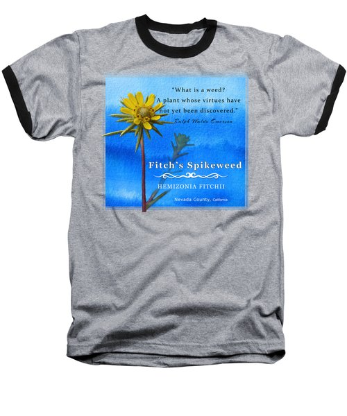 Fitch's Spikeweed Baseball T-Shirt