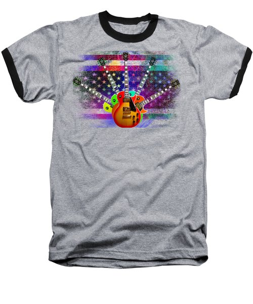 Five Guitars Baseball T-Shirt