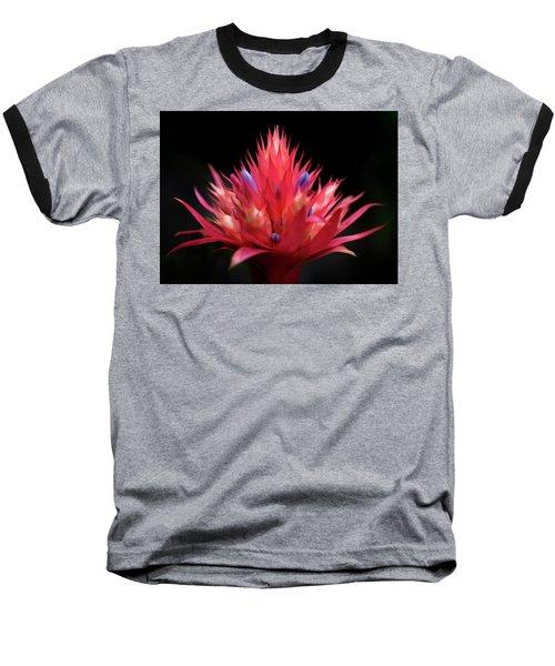 Flaming Flower Baseball T-Shirt