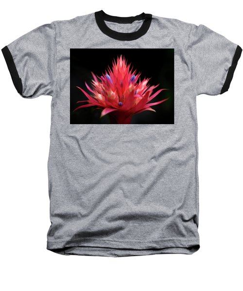Flaming Flower Baseball T-Shirt